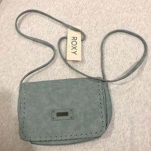 teal roxy purse